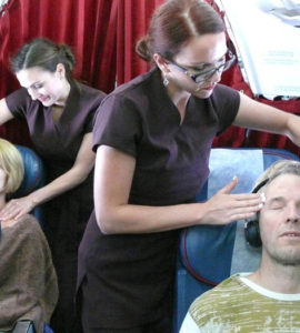 air malta in-flight massage