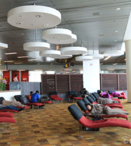 Best Airports for Sleeping 2015: Singapore Airport