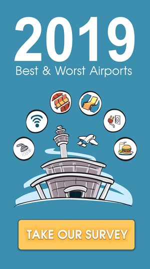 2019 best and worst airports survey