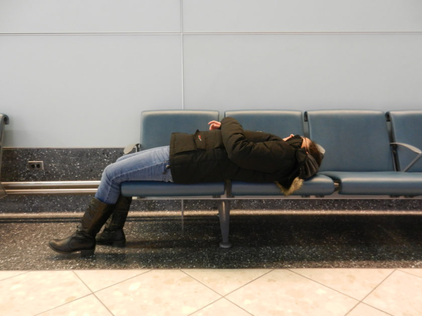 Newark Airport Sleeper